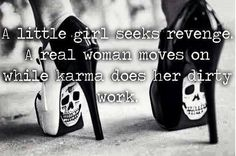 Yes im a real woman but, I know some that aren't. Watch your back bitches karma…