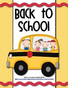 """$7.00 (97 Pages) """"Back-to-School"""" lesson Ideas for building teams and learners... includes fun reading & writing activities, plus readers' theater scripts, a first-week scrapbook, and more."""