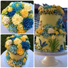 Maha Muhammed of Arty Cakes artycakes.co.uk in Manchester, UK ~ I wish I had her talent!
