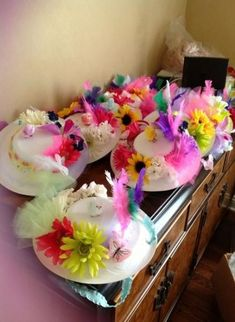 had my troop make tea party hats from Dixie plates for a tea partyI had my troop make tea party hats from Dixie plates for a tea party Toddler Tea Party, Girls Tea Party, Tea Party Theme, Princess Tea Party, Tea Party Birthday, Tea Parties, Tea Party For Kids, 7th Birthday, Birthday Ideas