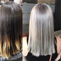 Silvery Blonde...In One Sitting! - Hair Color - Modern Salon