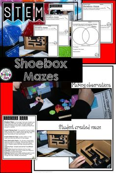 STEM Shoebox Mazes i