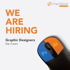 Do you aspire to be part of a creative and innovative team?  Join Checkbox Marketing Agency to explore and create appealing visuals which can communicate.  Connect with us to grow - Checkbox  Reach us on: Lead@checkbox.co.in  Visit: www.checkbox.co.in Check Box, We Are Hiring, Fun Activities, Good Times, Digital Marketing, Connection, Join, Graphic Design, Explore