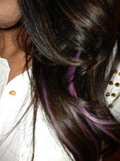 Lavender highlights