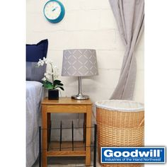 Does your dorm room feel like it is missing something? The smaller touches are often forgotten on dorm checklists. Stop by your local Goodwill to find clocks, curtains, picture frames, coffee makers, and more for under $10!