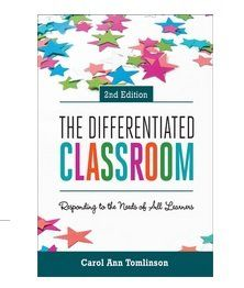 The Differentiated Classroom : Responding to the Needs of All Learners, Edition by Carol Ann Tomlinson and Carol A. Tomlinson Paperback) for sale online Real Teacher, Teacher Books, Teacher Stuff, Instructional Strategies, Differentiated Instruction, Instructional Coaching, Differentiation In The Classroom, Differentiation Strategies, Cult Of Pedagogy