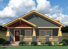 Craftsman Style Modular Homes   Craftsman Elevation - Wilmington by Palm Harbor Homes