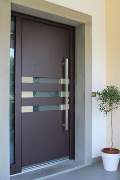 Find this Pin and more on casa. & Details about Front doors - exclusive doors - Aluminium doors + 2 ... Pezcame.Com