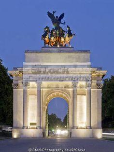 Wellington Arch at Hyde Park Corner, London