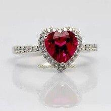 corazon diamante y rubi tiffany - Buscar con Google