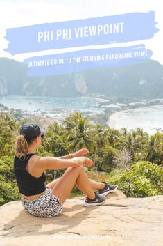 Phi Phi viewpoint (The ultimate guide to the stunning panoramic views) | Thailand travel | Best places in Thailand bucket lists | Best places in Thailand | | Thailand Instagram pictures | Thailand Instagram ideas | Thailand travel tips | Thailand travel photography | Thailand travel destinations | Thailand travel backpacking | #Thailand #KohPhiPhi #PhiPhiIsland #PhiPhi #KohPhiPhiViewpoint #Asia #SouthEastAsia #Travel #Viewpoint #VisitThailand #Backpacking #WanderInTwo