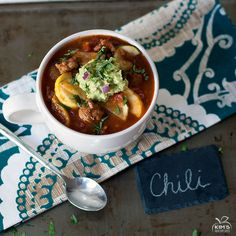 No Bean Turkey Veggie Chili | Kim's Healthy Eats