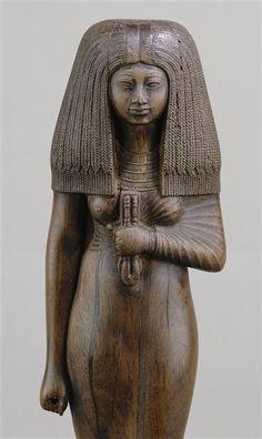 Nouvel Empire, fin 18e dynastie règne de Aménophis III (1391-1353)  (bois (matière), sculpture (technique)