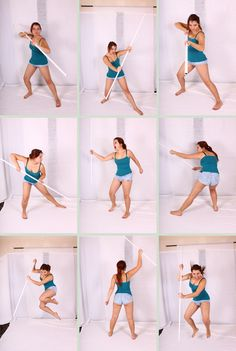 spear fighting poses - Google Search