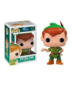 Take a look at this Peter Pan Pop! Figure by Disney on #zulily today!