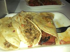 The pastor tacos at Tacos Guss are the bomb!!!