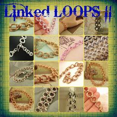 Spring Linked Loops II Chainmaille Bracelet Kit - You PICK Colors - Stylish Chainmaille