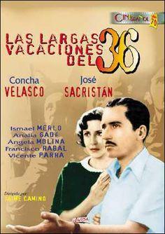 Las largas vacaciones del 36 (1976) España. Dir.: Jaime Camino. Drama. Guerra civil española - DVD CINE 1528