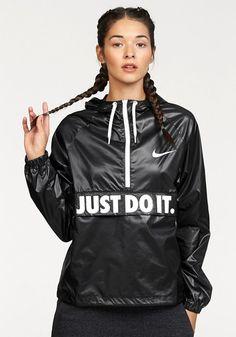 Needs matching pants!!      Nike CITY PACKABLE JACKET Windbreaker, schwarz - Domodi.de