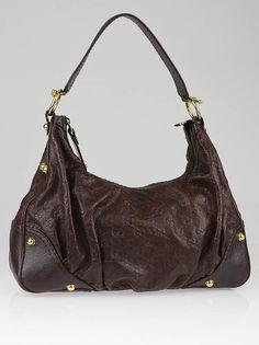 Gucci Brown Guccissima Jocky Handbag NWT  #Gucci #ShoulderBag