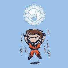 Mario Spirit Bomb By:Everything Genkidama