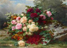 (1) Gallery.ru / Фото #15 - Цветы,подборка по разным художникам. - Lin4ik