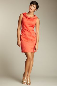 Just Taylor Embroidery Detailed Dress