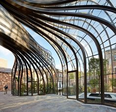 Bombay Sapphire Distillery is a Wedding Venue in United Kingdom. See photos and contact Bombay Sapphire Distillery for a tour. Modern Architecture House, Beautiful Architecture, Landscape Architecture, Architecture Design, Do It Yourself Tattoo, Level Design, Thomas Heatherwick, Bombay Sapphire, Brick Construction