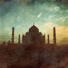 1001 days theTaj Mahal Agra India travel love by NiceLittlePhotos, £10.00