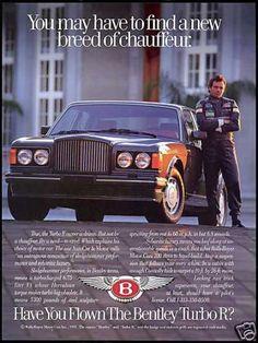Bentley Turbo R Car Photo Chauffeur (1992)