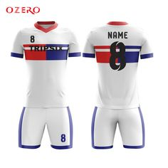 589ef76a3 Find More Soccer Jerseys Information about blue and red soocer shirt  classic club soccer jersey custom