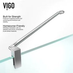 VIGO Frameless Clear Glass Shower Enclosure with Left Base x (Chrome), Clear/White Vigo Shower Doors, Shower Door Hardware, Frameless Shower Enclosures, Glass Shower Enclosures, Bathroom Design Small, Modern Bathroom, Shower Base, White Shower, Clear Glass