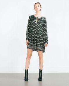 Vestido Casual, Work Attire, Zara Women, Autumn Winter Fashion, Winter Style, Dress Collection, Ideias Fashion, One Piece, My Style