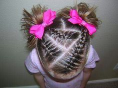Braids with pigtails:)