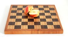 "1"" Multi-wood End Grain Cutting Board"