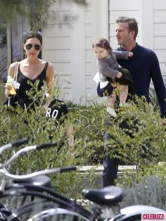 David Beckham and wife Victoria Beckham enjoy Easter Weekend with their kids Brooklyn, Romeo, Cruz and Harper in Napa Valley, CA on April 8, 2012.