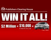 Sweepstakes - WIN IT ALL! $2 Million + $10K A Month For Life + Lincoln MKZ