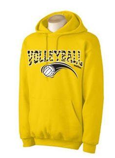e8729ed4e Zebra Hoodie Volleyball Athletic Gold Small « Shirt Add