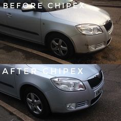 Kirsten used #Chipex on her car after a runaway driver hit it. Great results Kirsten thanks for sharing.