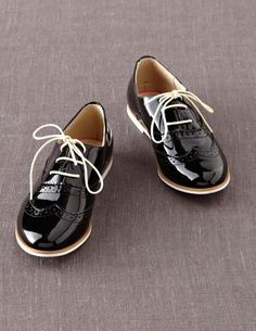 patent leather brogues from Mini Boden