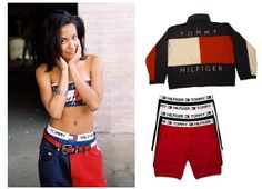 Copycat: Shop Aaliyah | Fashion Magazine | News. Fashion. Beauty. Music. | oystermag.com 90s Tommy Hilfiger