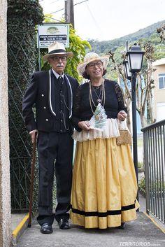 Sr. Lippe e professora Regina