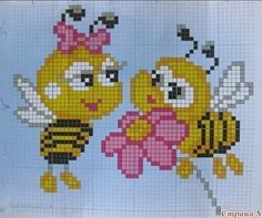 Cross Stitch For Kids, Mini Cross Stitch, Beaded Cross Stitch, Cross Stitch Alphabet, Cross Stitch Embroidery, Embroidery Patterns, Loom Patterns, Baby Knitting Patterns, Cross Stitch Designs