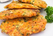 WW Carrot and Zucchini Röstis - Main Course and Recipe-Röstis aux Carottes et Courgettes WW – Plat et Recette WW Carrot and Zucchini Röstis, recipe for tasty light patties, rich in taste, both crisp and soft, easy to relish -