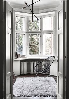 The Monochrome Home of Finnish Interior Designer Laura Seppänen