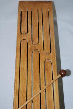 Wooden Tongue Drum (Basswood) (12 drummers drumming) | UpNorthWoods via Etsy | $25.00