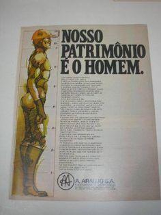 ( l - 290/ g ) propaganda antiga a araujo engenharia s.a (A. ARAUJO S/A ENGENHARIA E MONTAGENS)