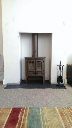 Charnwood Island 1 in Bronze Lounge Ideas, Stoves, Wood Burning, Bronze, Island, Room, Home Decor, Bedroom, Salon Ideas