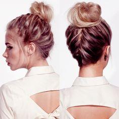 HAIR HOW TO: Headmasters' Braided Wedding Knot - Beauty & Hair Blog - handbag.com