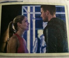 Arrow - Oliver and Felicity #3.1 #Season3